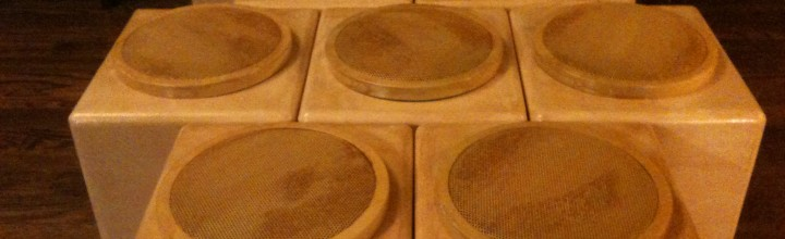 Nine speaker for the Resonant Nest thanks to composer and audio guru Bob Hoehn